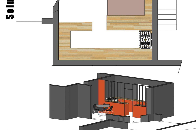 mission conseil pour l'aménagement d'une cuisine 2