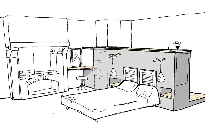 mission conseil pour aménagement d'une chambre