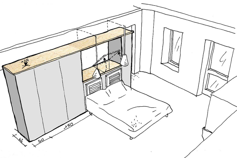 mission conseil pour aménagement d'une chambre Brioude