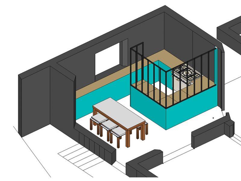 mission conseil pour l'aménagement d'une cuisine 1